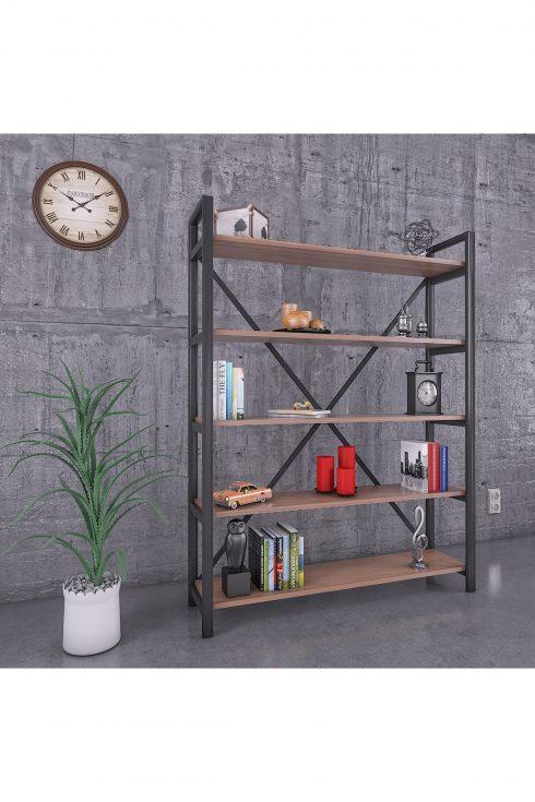 قفسه چوبی فلزی