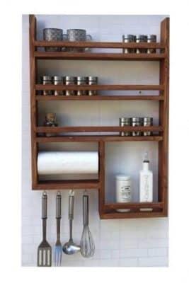 قفسه ادویه جات آشپزخانه