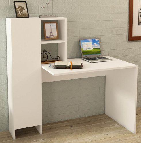 میز کار و قفسه و کمد