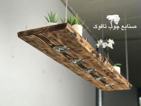 قفسه آویز به همراه چراغ