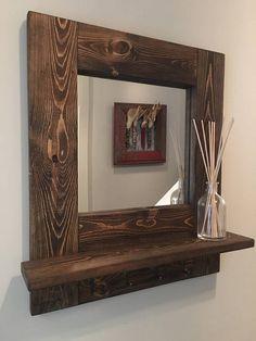 قاب آینه تاقچه دار