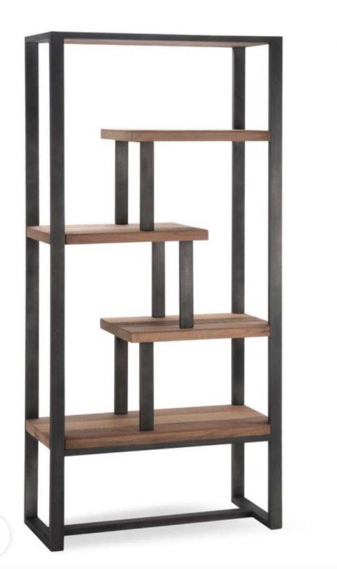 قفسه چوب و فلز طرح رومینا