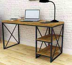 میزکار چوب و فلز طرح رومینا