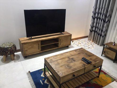 میز تلویزیون طرح آرزو